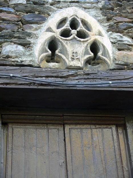 El finestral gòtic de Borén