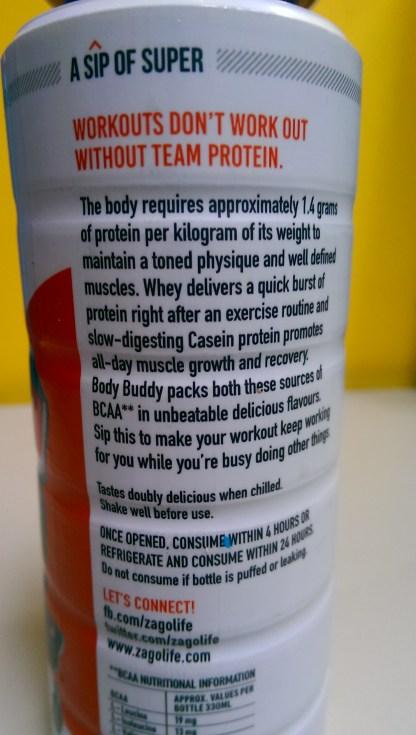 Body Buddy Protein Description