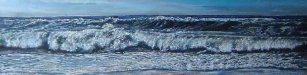 Ölmalerei Wellen