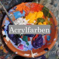 Acrylbild selber malen - Tipps Malen mit Acryl - Acrylmalerei