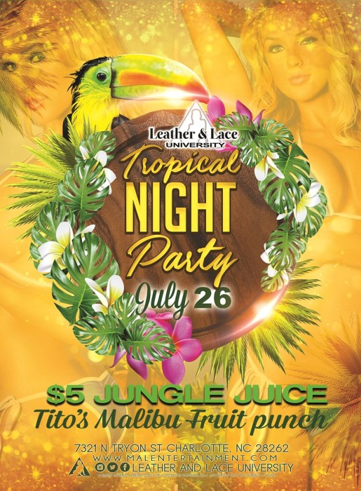 (Copy) Tropical Night Party