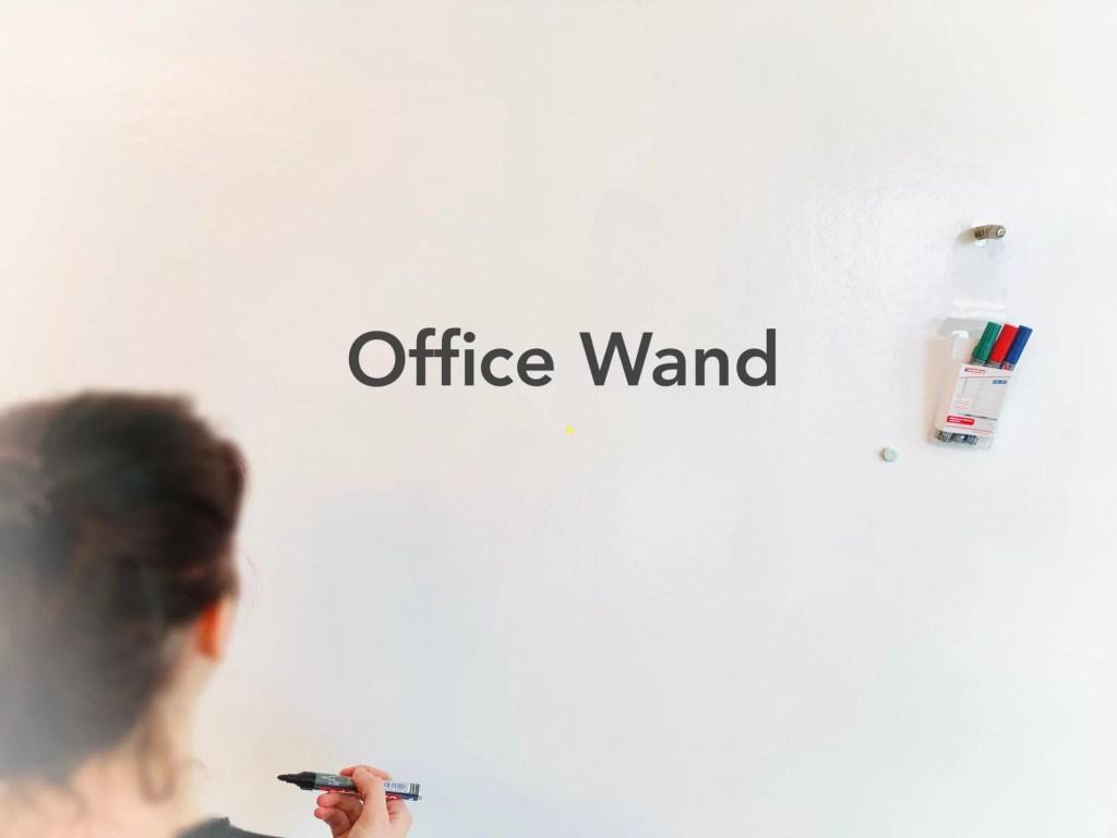 Tipps für eine Whiteboard Wand im Büro