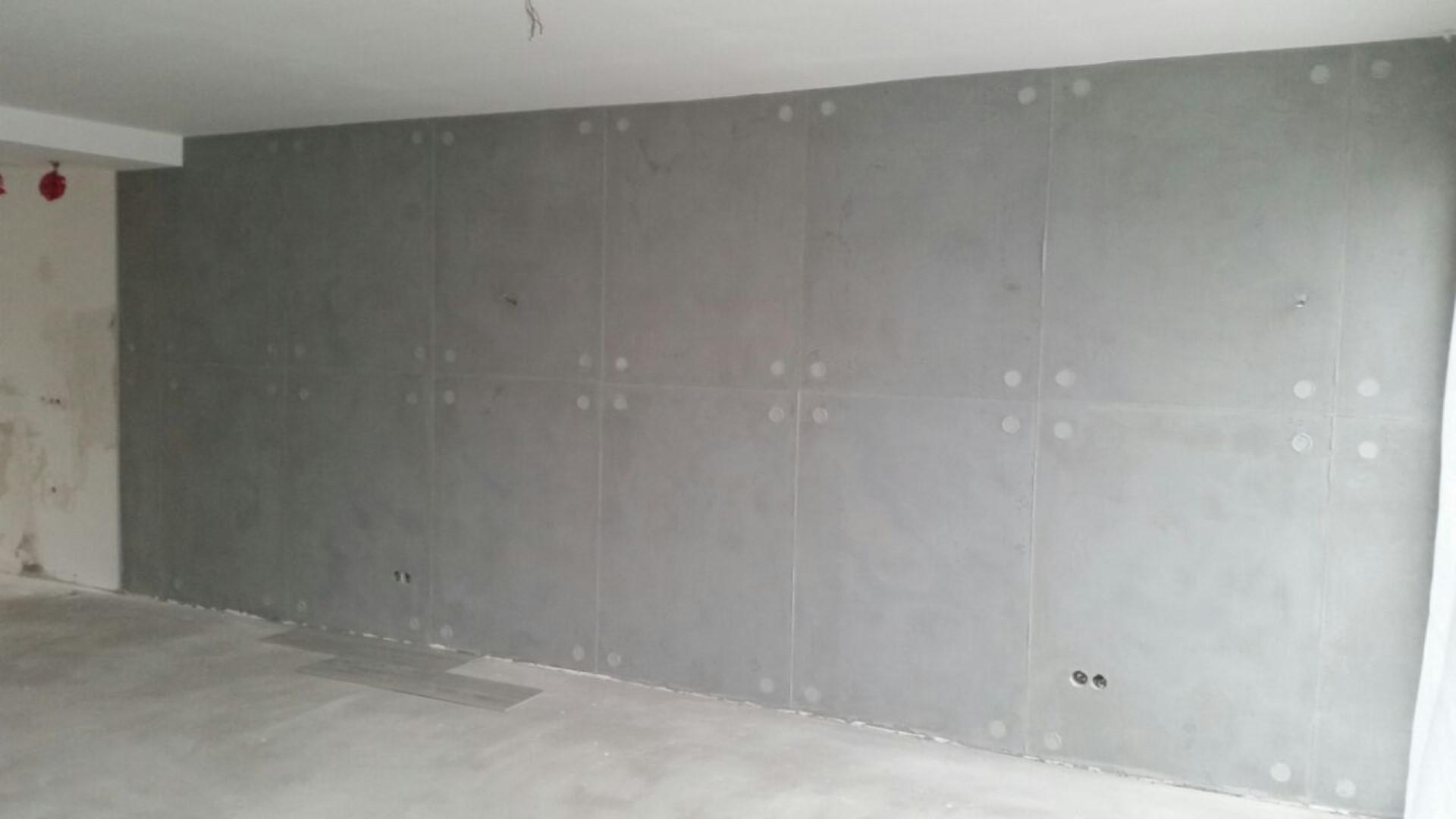 wandgestaltung betonoptik. Black Bedroom Furniture Sets. Home Design Ideas