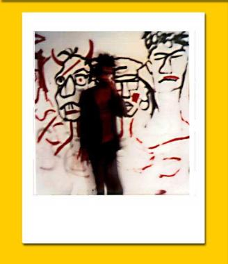Jean-Michel Basquiat downtown 81 NYC