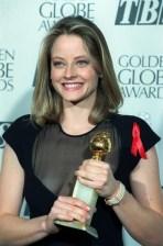 Jodie Foster -Golden Globe Awards