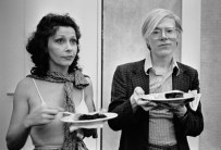 Ultra Violet and Andy Warhol