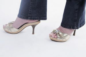 Sandália CS Dourada