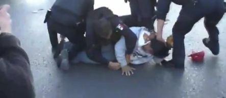 Los indignados de Juárez y la represión