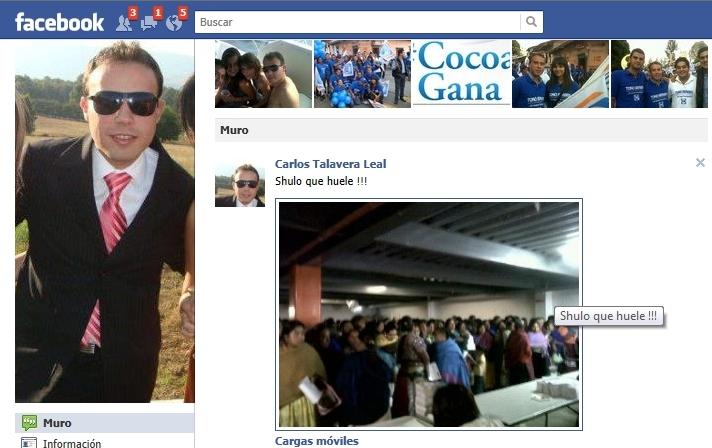 """Empleado de Sedesol dice en Facebook que el olor de las indígenas es """"impresionantemente feo"""""""