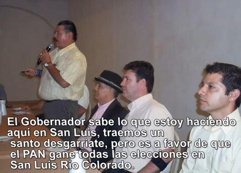 Guillermo Padrés intentará reventar la elección en Sonora