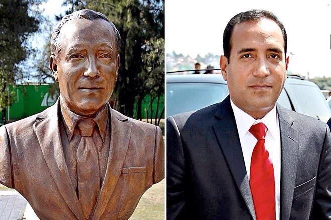 Karim Carvallo, edil de Cuautitlán Izcalli ya tiene su busto de bronce
