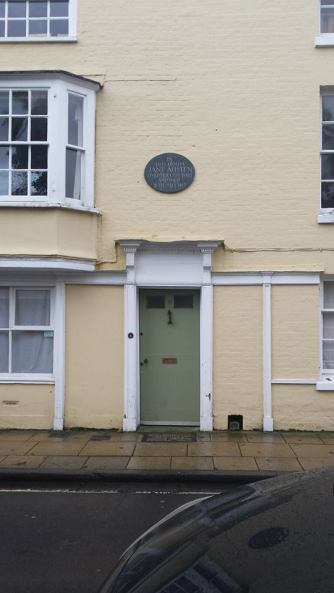 Jane Austen's final home on College Street in Winchester