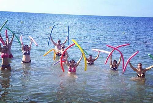 pilates aquatico
