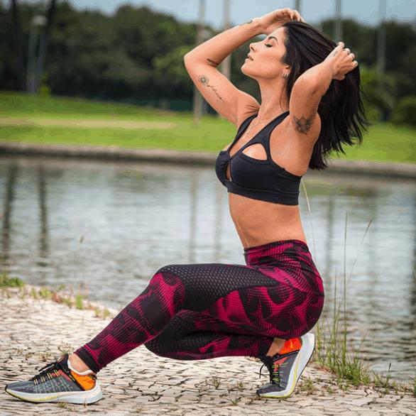 Roupas fitness feminina