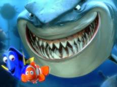 Disney-Cartoons-animated-film-character-Barracuda-horify-marlin-and-dory-Wallpapers-20101