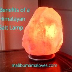 Benefits of a Himalayan Salt Lamp