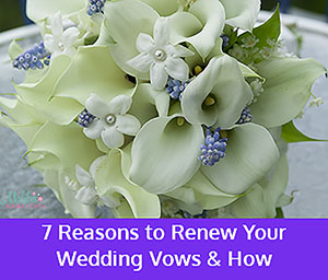reasons to renew your wedding vows