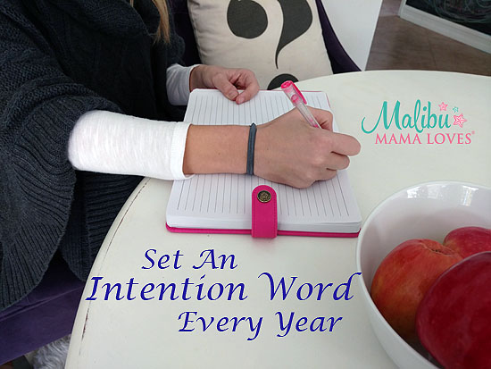 set an intention word every year