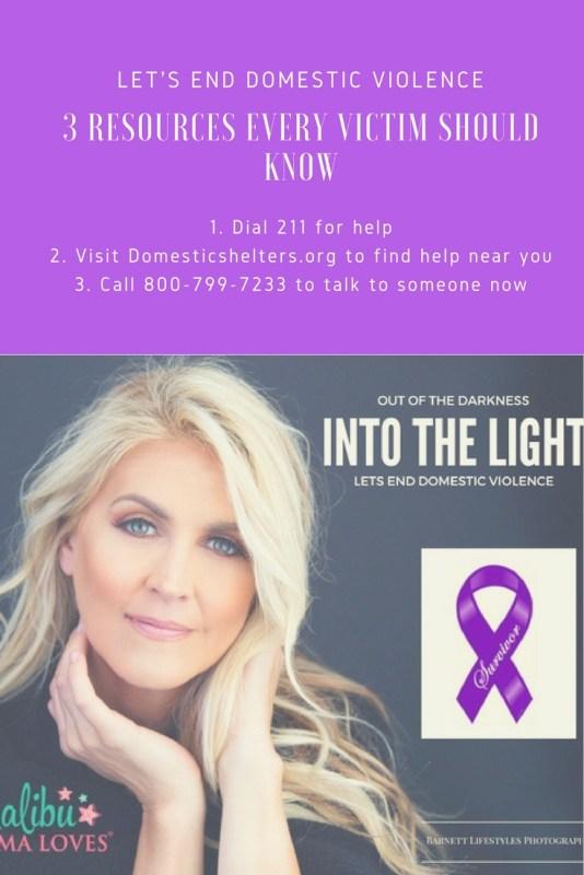 Conscious Living: Let's End Domestic Violence