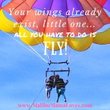 Parasailing with Island Water Charters on Catalina Island