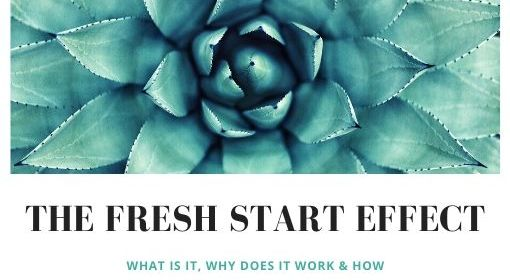 The Fresh Start Effect