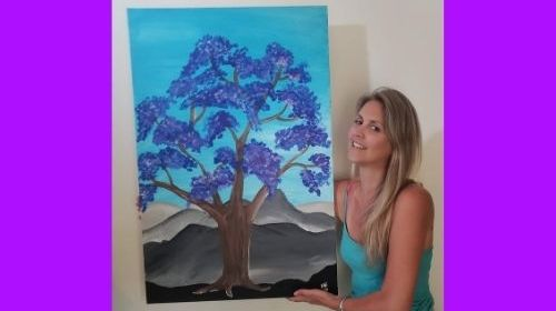 My Purple Tree – A Story of Projection