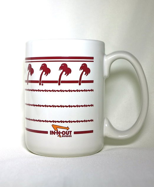 In-n-Out Burger Ceramic Coffee Mug