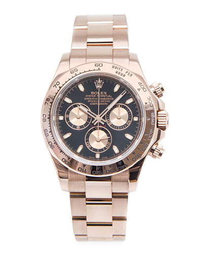 Rolex Daytona Cosmograph Rose Gold Watch – NM Watch Collection by Crown & Caliber Classic