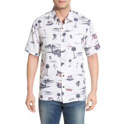 Jack O'Neill 'Independence' Regular Fit Print Camp Mens Hawaiian Shirt