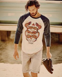 True Religion TR Snake Embroidery Mens Tee