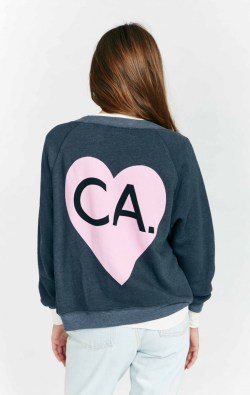 Wildfox Bicoastal CA x NY Girl Kim's Womens Sweater