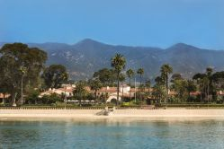 The Biltmore Four Seasons Resort Hotel in Santa Barbara California