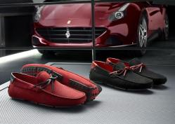 Tods x Ferrari Shoe Collection