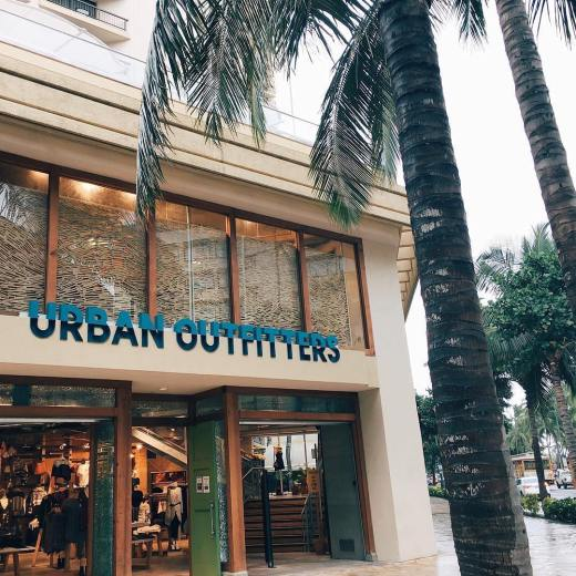Urban Outfitters Hawaii Store