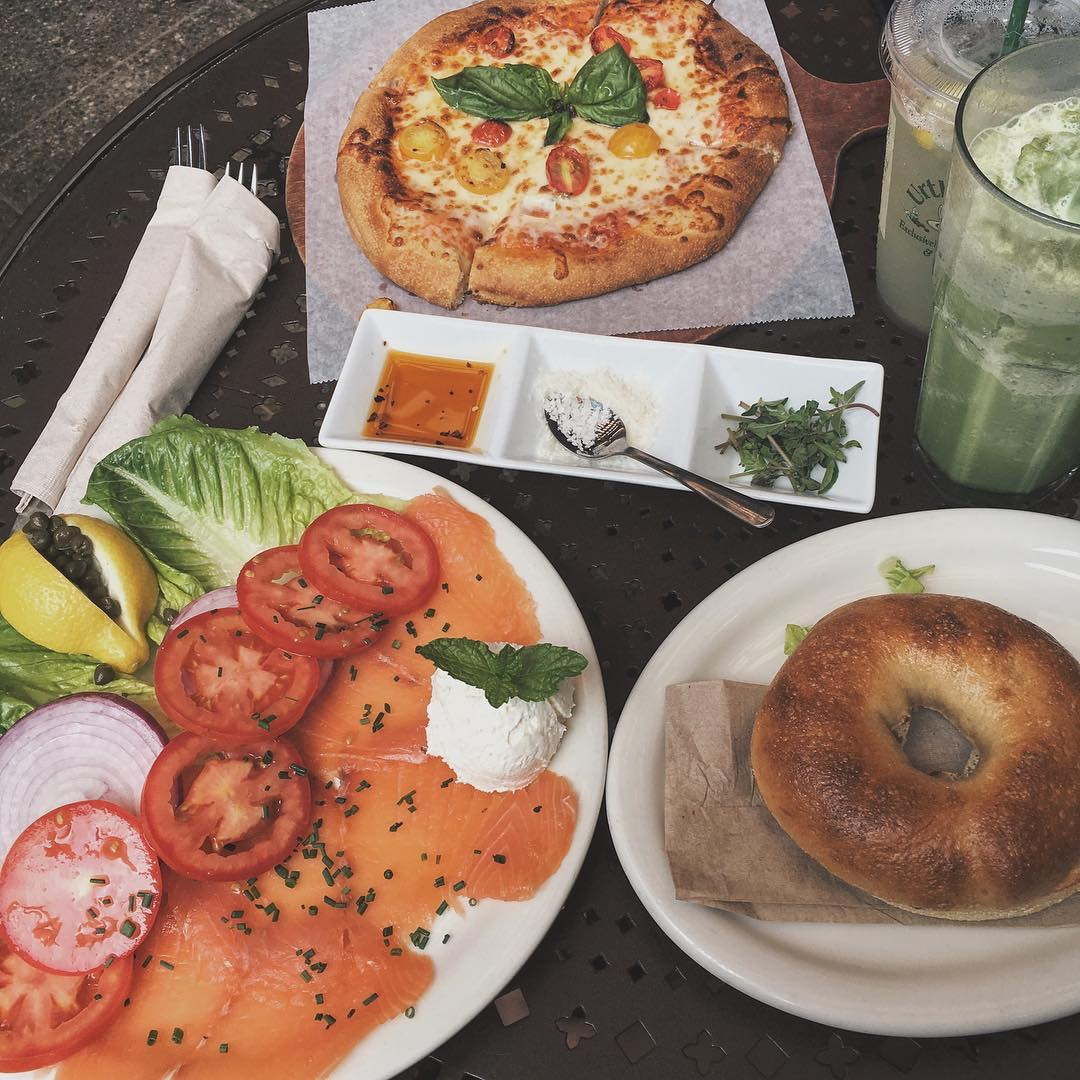 Urth Caffe Restaurant in Santa Monica, California