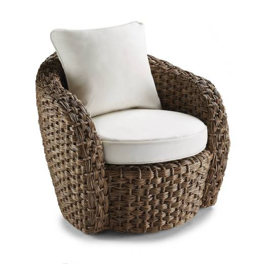 Margaritaville Barbados Swivel Lounger with Cushion