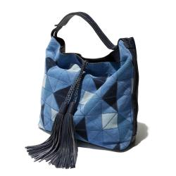 Rebecca Minkoff Isobel Patchwork Suede Hobo Bag