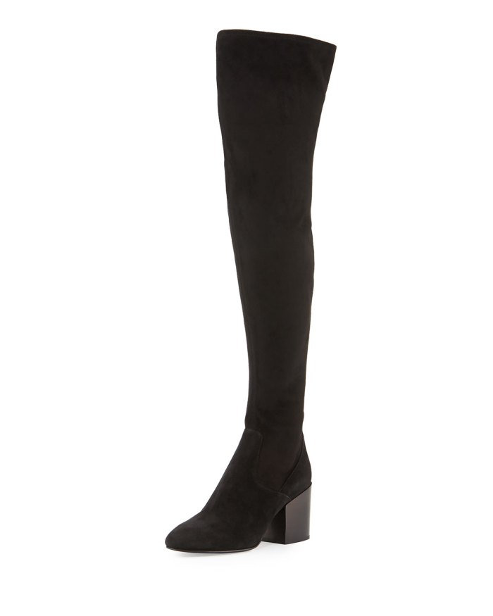 Ash Elisa Chunky-Heel Over-the-Knee Boot