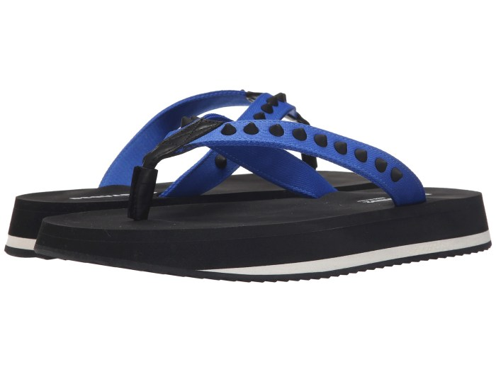 DSQUARED2 Blue Sandals