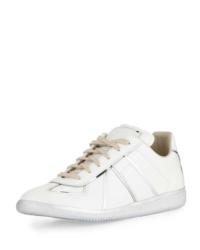Maison Margiela Replica Metal-Trim Low-Top Sneaker