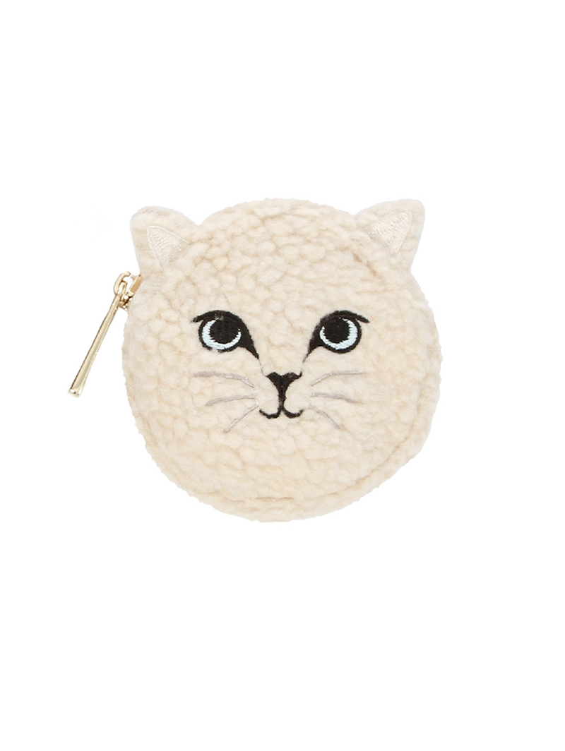 Geraldine Cat Coin Purse by Paul & Joe Sister