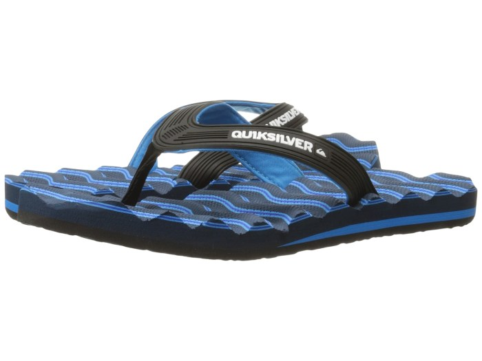 c2bdc2455 Quiksilver Massage Black   Blue Sandals