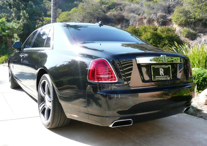 Rolls Royce Ghost 2014 V Spec Luxury Car