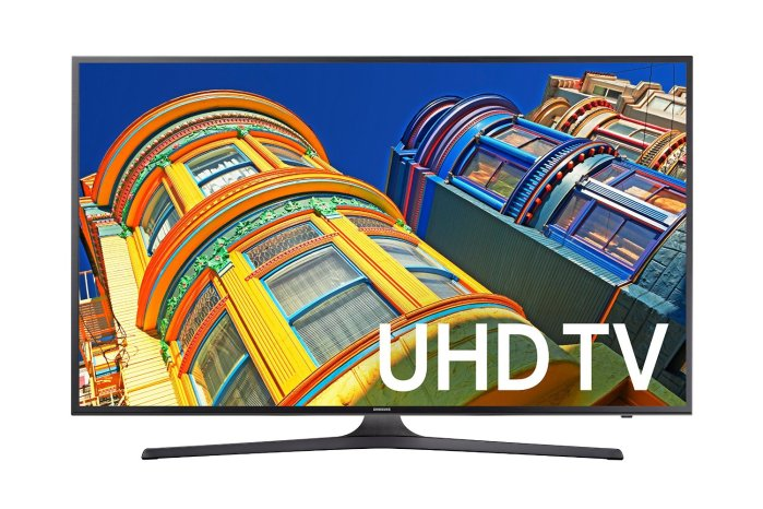 Samsung 40-Inch 4K UN40KU6300 Ultra HD Smart LED TV
