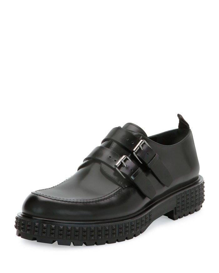 Valentino Punky-Chic Double-Monk Shoes