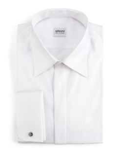 Armani Collezioni Modern Fit Basic Formal Shirt