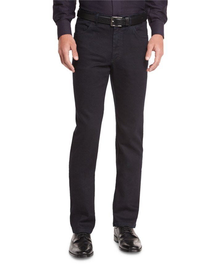 Brioni Stretch Denim Jeans
