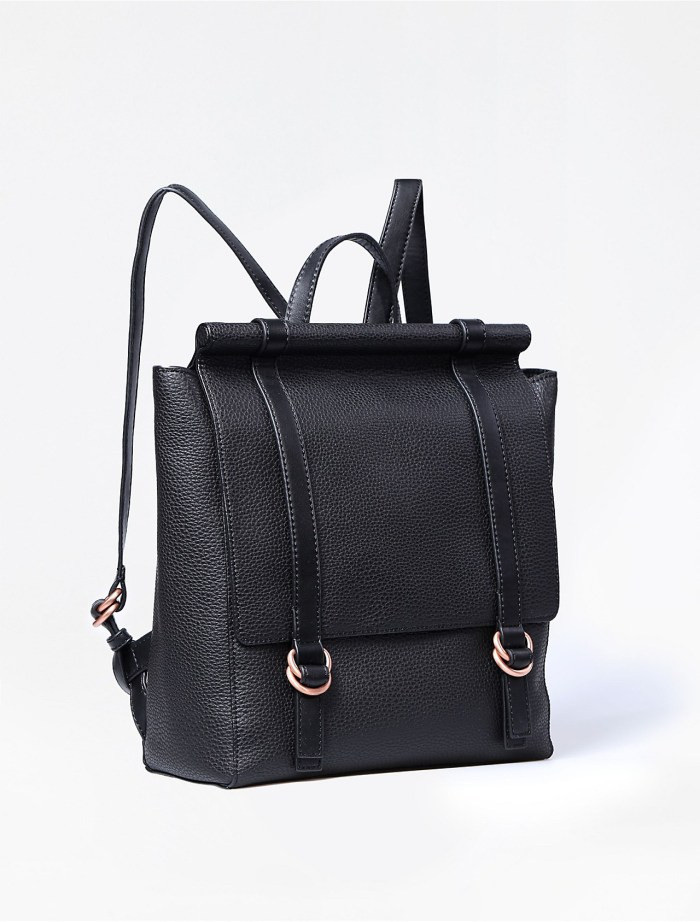 Calvin Klein Pebbled Leather City Backpack