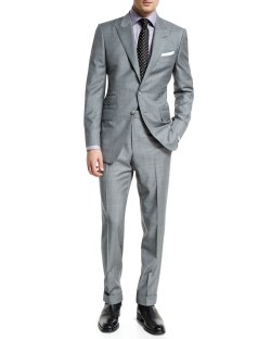TOM FORD O'Connor Base Sharkskin Two-Piece Suit