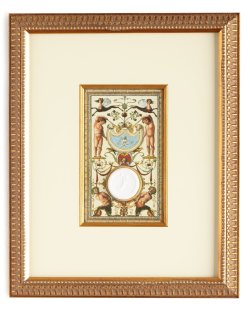 Venetian Mural Intaglio with Satyrs